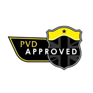 PVD Approved badge