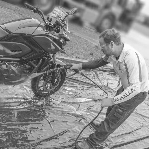 Professional Motorcycle Detailing Group Day