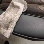 Leather repair detailing