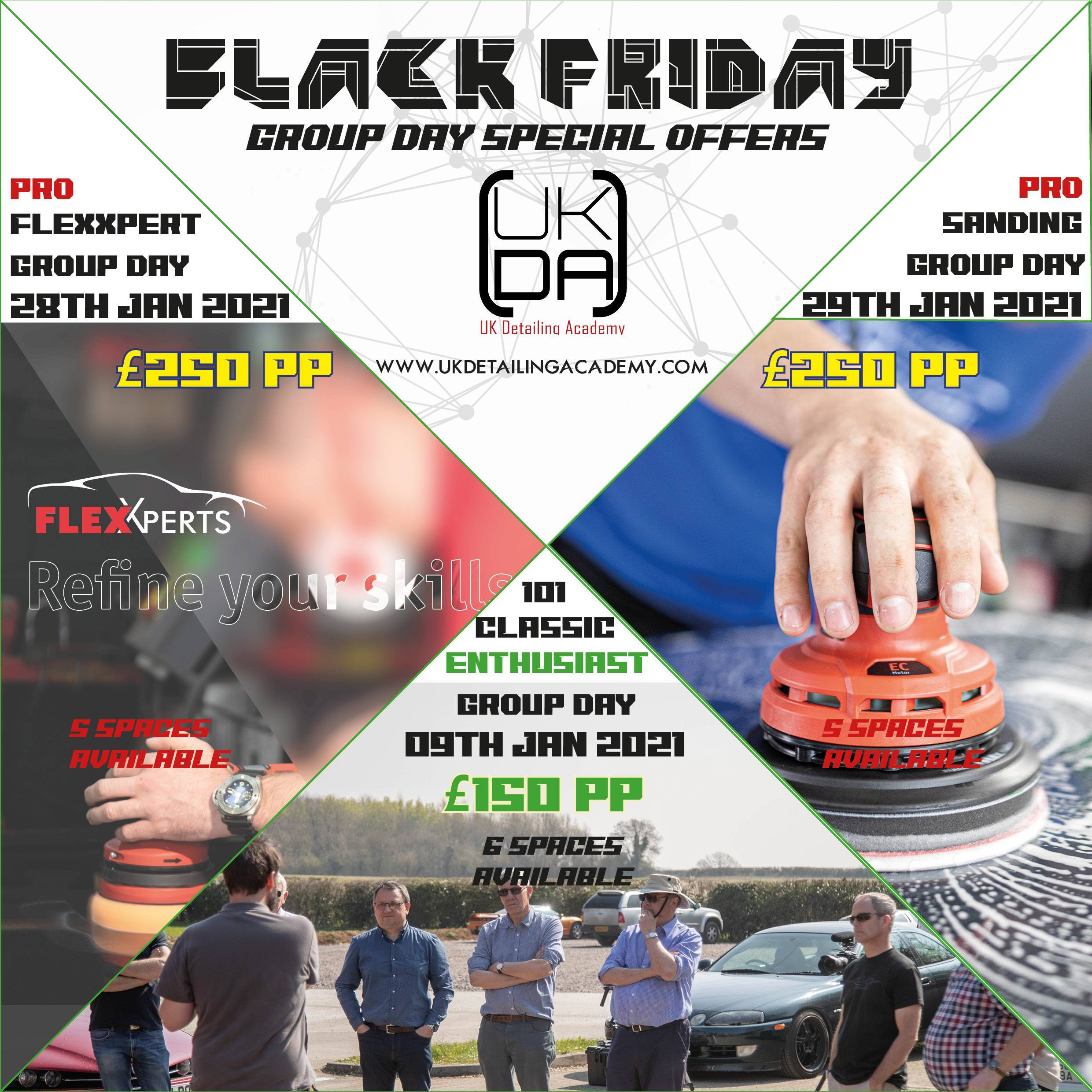 Black Friday Group Course Offers