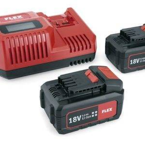 Flex 55R Batteries and Charger