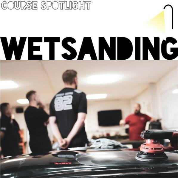 Course spotlight: Wetsanding